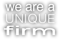 We are a unique firm